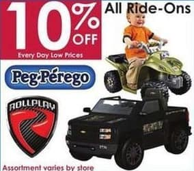 Rural King Black Friday: All Peg-Perego and RollPlay Ride-Ons - 10% Off