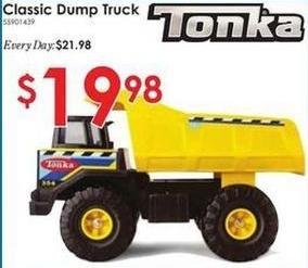 Rural King Black Friday: Tonka Classic Dump Truck for $19.98