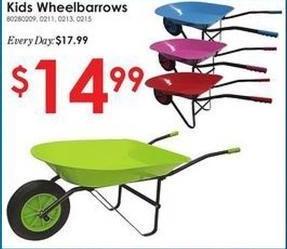 Rural King Black Friday: Kids Wheelbarrows for $14.99