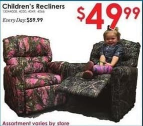 Rural King Black Friday: Children's Recliners for $49.99