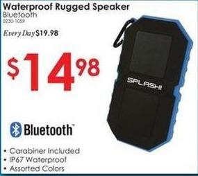 Rural King Black Friday: Bluetooth Waterproof Rugged Speaker for $14.98