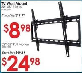 """Rural King Black Friday: 32""""-65"""" TV Wall Mount for $8.98"""