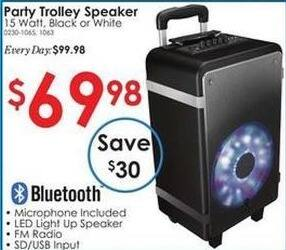 Rural King Black Friday: Party Trolley Speaker for $69.98