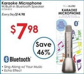 Rural King Black Friday: Karaoke Microphone w/ Built-In Bluetooth Speaker for $7.98