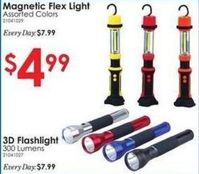 Rural King Black Friday: 300 Lumen 3D Flashlight for $4.99