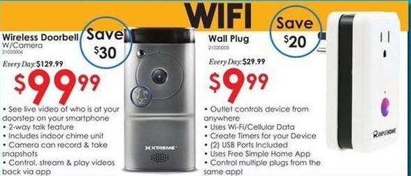 Rural King Black Friday: WiFi Wall Plug for $9.99