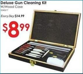 Rural King Black Friday: Deluxe Gun Cleaning Kit w/ Wood Case for $8.99