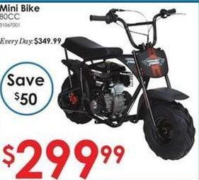 Rural King Black Friday: 80CC Mini Bike for $299.99