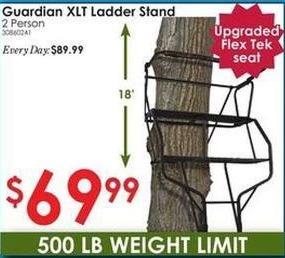 Rural King Black Friday: Guardian XLT Ladder Stand for $69.99