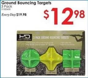 Rural King Black Friday: Ground Bouncing Target 3-Pack for $12.98