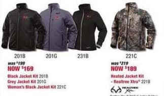 Rural King Black Friday: Milwaukee Heated Jacket for $169.00