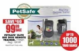Blains Farm Fleet Black Friday: PetSafe Elite Big Dog Remote Trainer for $99.99