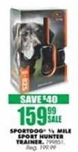 Blains Farm Fleet Black Friday: Sportdog 1/2 Mile Sport Hunter Trainer for $159.99