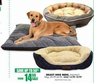 Blains Farm Fleet Black Friday: Select Dog Beds for $14.99 - $18.99