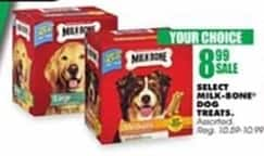 Blains Farm Fleet Black Friday: Milk Bone Dog Treats, Select Varieties for $8.99