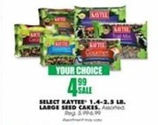 Blains Farm Fleet Black Friday: Kaytee 1.4-2.5 Pound Large Seed Cakes, Select Varieties for $4.99