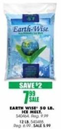 Blains Farm Fleet Black Friday: Earth Wise 50 Pound Ice Melt for $7.99