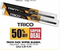 Blains Farm Fleet Black Friday: Trico Flex Wiper Blades for $5.49 - $9.99