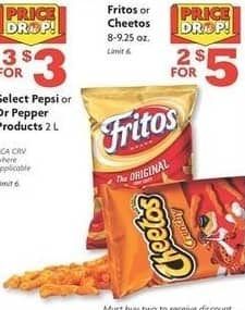 Family Dollar Black Friday: (2) Fritos or Cheetos 8-9.25oz Bags for $5.00