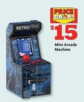 Family Dollar Black Friday: Mini Arcade Machine for $15.00