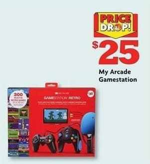Family Dollar Black Friday: My Arcade Gamestation for $25.00