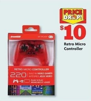 Family Dollar Black Friday: Retro Micro Controller for $10.00