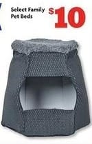 Family Dollar Black Friday: Select Family Pet Beds for $10.00