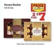 Family Dollar Black Friday: (2) Ferrero Rocher 4.6-5.3 oz Boxes for $7.00