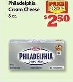 Family Dollar Black Friday: Philadelphia Cream Cheese 8 oz for $2.50