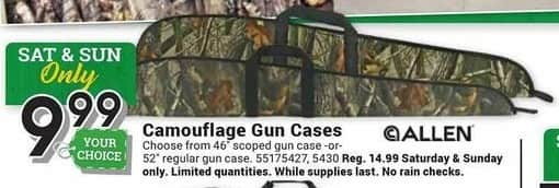 Farm and Home Supply Black Friday: Allen Camouflage Gun Cases for $9.99