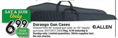 Farm and Home Supply Black Friday: Allen Durango Gun Cases for $6.99