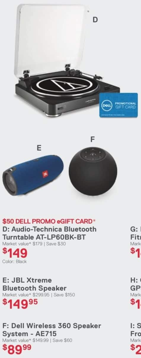 Dell Home & Office Cyber Monday: Dell Wireless 360 Speaker System (AE715) for $89.99