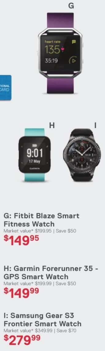 Dell Home & Office Cyber Monday: Fitbit Blaze Smart Fitness Watch for $149.95