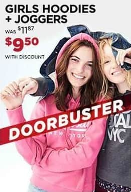 Aeropostale Cyber Monday: Girls' Hoodies and Joggers for $9.50
