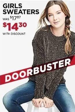 Aeropostale Cyber Monday: Girls' Sweaters for $14.30