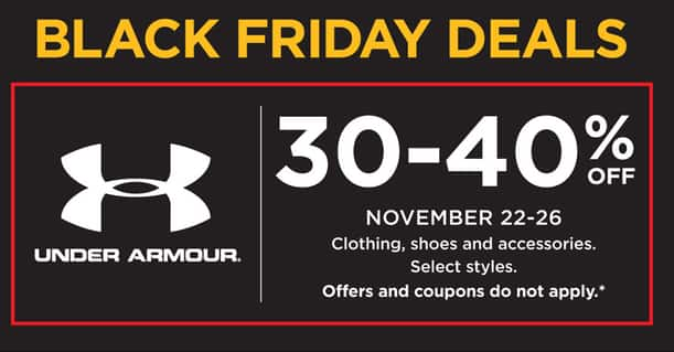 cdc02211802 Kohl s Black Friday  Under Armour Clothing