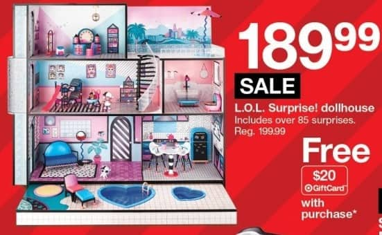 L O L Surprise Dollhouse For 189 99 Slickdeals Net