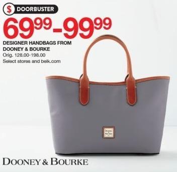 bfe7e0666987 Belk Black Friday: Dooney & Bourke Designer Handbags for $69.99 - $99.99