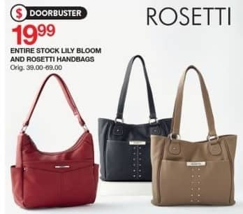 Belk Black Friday  Entire Stock Lily Bloom and Rosetti Handbags for  19.99 6fbd18710af07