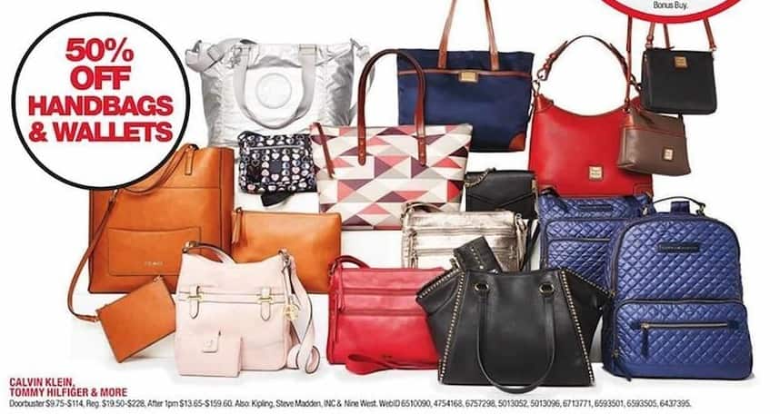 d9dd89fc66c962 Macy's Black Friday: Handbags and Wallets from Calvin Klein, Tommy Hilfiger  & More - 50% Off