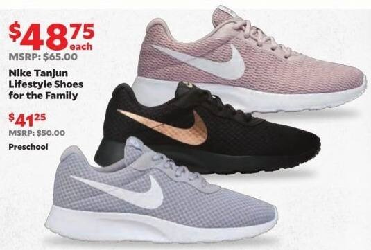 65df5b466a3 Academy Sports + Outdoors Black Friday: Nike Men's, Women's or Kids' Tanjun  Lifestyle Shoes for $48.75