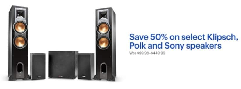 Best Buy Black Friday Klipsch Polk And Sony Speakers Select Products