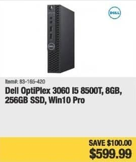 Newegg Black Friday: Dell OptiPlex 360 Desktop: Intel i5