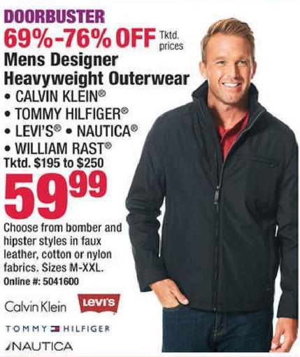 toller Rabatt für Wählen Sie für echte am billigsten Boscov's Black Friday: Calvin Klein, Tommy Hilfiger, Levi's ...