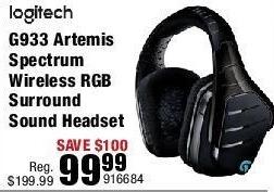 Micro Center Black Friday: Logitech G933 Artemis Spectrum