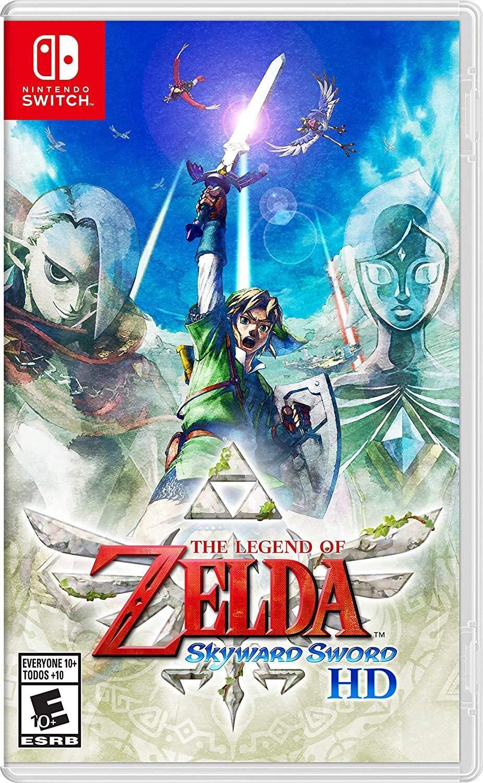 Amazon.com: The Legend of Zelda: Skyward Sword HD - Nintendo Switch: Nintendo of America: Video Games $50.99