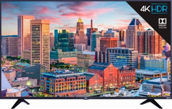 """55"""" 4k HDTV TCL 55S515 LED UHD TV with HDR - Early Access with BB Login $429.99"""