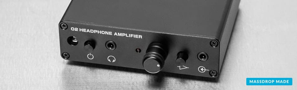 Massdrop Objective 2 (O2) Headphone Amplifier $79.99 (or upgraded version: $94.99) + shipping