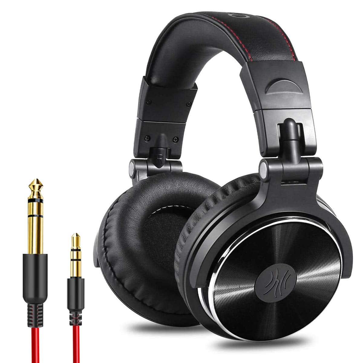 OneOdio Adapter-Free Closed Back Over-Ear DJ Stereo Monitor Headphones, Professional Studio Monitor & Mixing, Telescopic Arms with Scale, Newest 50mm Neodymium Drivers $37.99
