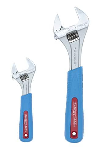 Channellock WS-2CB 2 Piece Adjustable Wrench Set  $29.87
